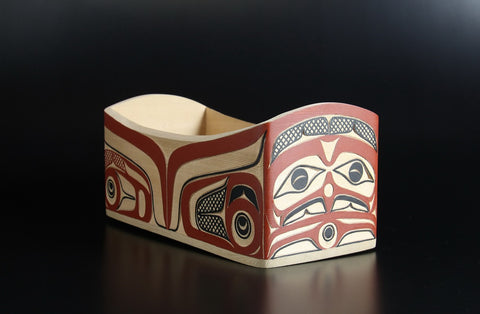 Eagle and Young Chief Bentwood Box