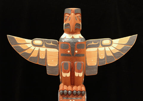 Eagle and Whale Totem
