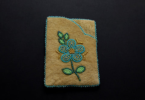 Cardholder – Blue Flower