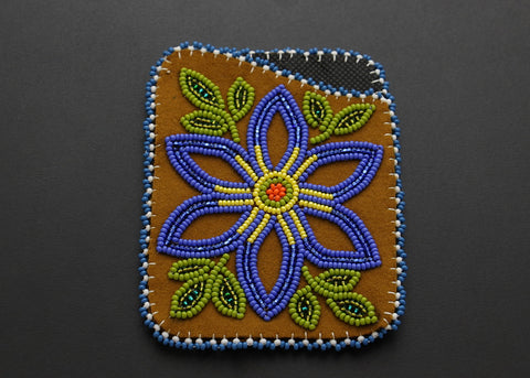Cardholder - Blue Flower