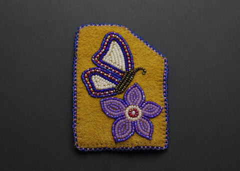 Cardholder – Butterfly and Flower