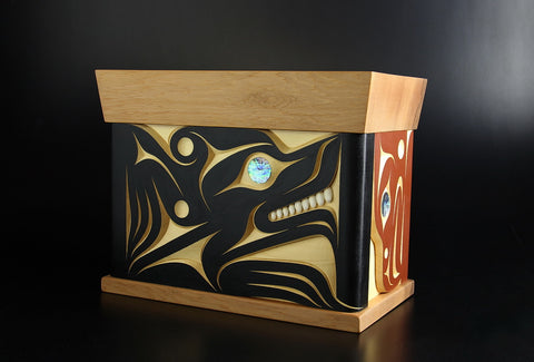 Bear Bentwood Box