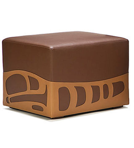 Pacific Pouf - chestnut