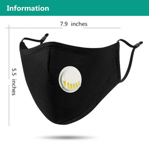 Activated Carbon Face Protector