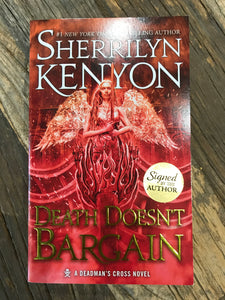 "Sherrilyn Kenyon ""Death Doesn't Bargain"" SIGNED NEW"