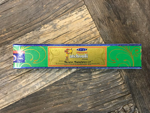 Patchouli Incense, Satya