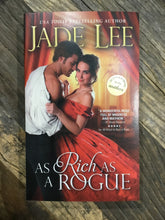 "Load image into Gallery viewer, Jade Lee ""As Rich as a Rogue"" SIGNED NEW"