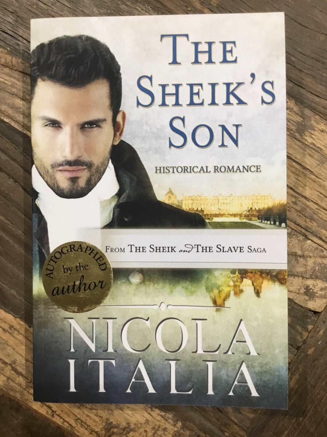 "Nicola Italia ""The Sheik's Son"" SIGNED NEW"