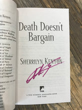 "Load image into Gallery viewer, Sherrilyn Kenyon ""Death Doesn't Bargain"" SIGNED NEW"