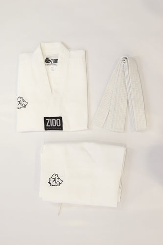 Zido Classic World Taekwondo (WT) Style Uniform/Dobok (Top and Pants)