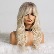 Load image into Gallery viewer, Synthetic Lacefront Wig Ombre