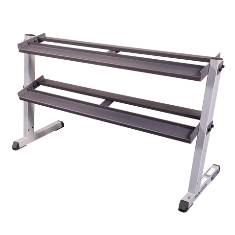 Body Solid 2 Tier Horizontal Dumbell Rack