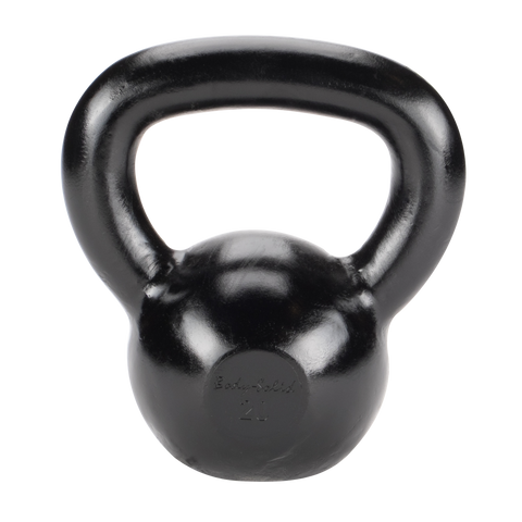 Body Solid 20lb Cast Iron Black Kettlebell