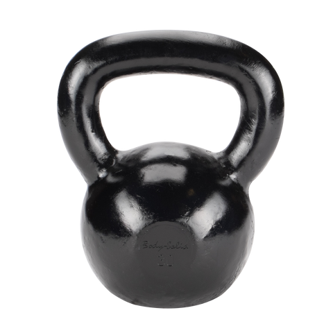 Body Solid 30lb Cast Iron Black Kettlebell