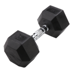 Body Solid 35lb Rubber Dumbell