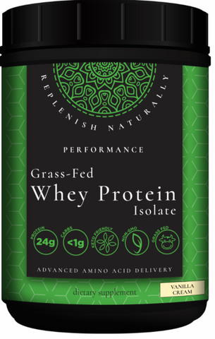Grass Fed Whey Protien Mother Earth Labs