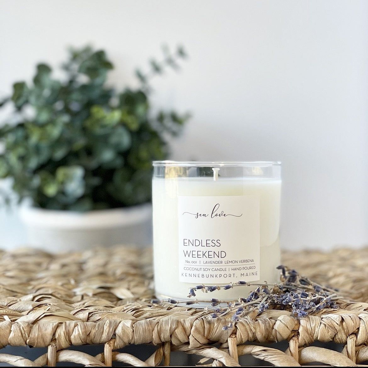 """Endless Weekend"" Soy Candle - Sea Love Candle & Company"