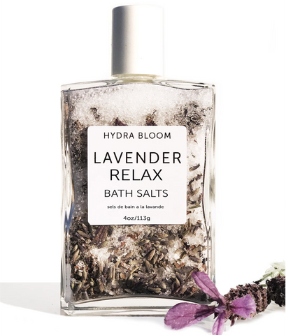 Lavender Relax Bath Salts - Hydrabloom