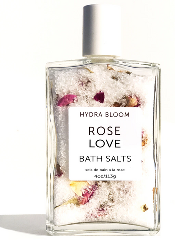 Rose Love Bath Salts- Hydrabloom