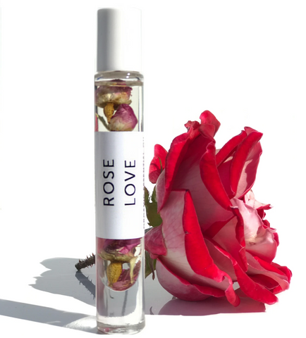 Hydrabloom - Rose Organic Essential Perfume Roll-on Oil