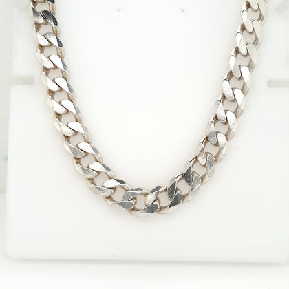 925 Silver Curb Chain Approx 95.4g Preowned