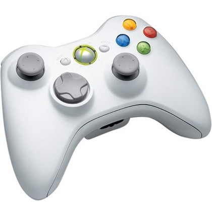Xbox 360 White Wireless Controller Used
