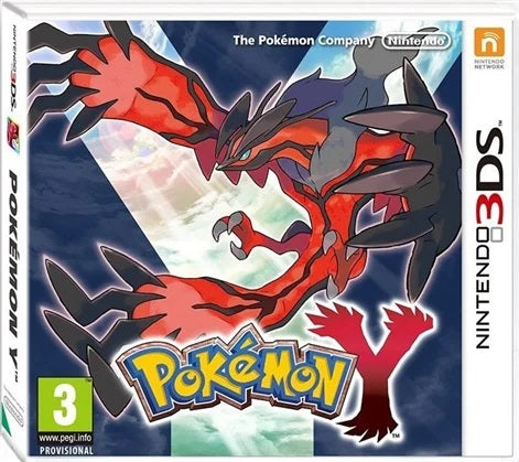 3DS - POKEMON Y (3) Preowned