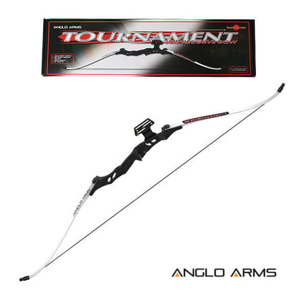40lb White Tournament Recurve Bow (RB001) Collection Only