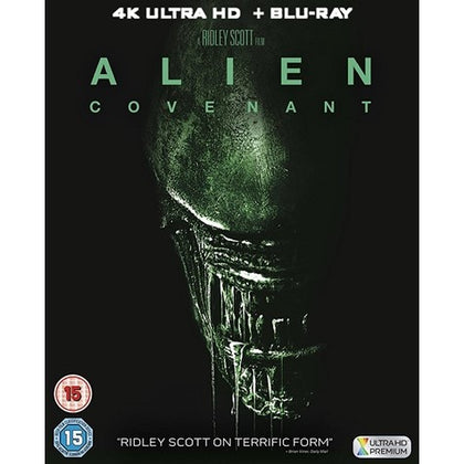 4K Blu-Ray - Alien Covenant Preowned