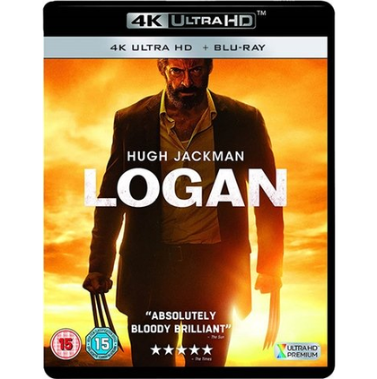4K Blu-Ray - Logan (15) Preowned