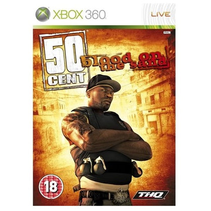 Xbox 360 - 50 Cent Blood On The Sand (18) Preowned