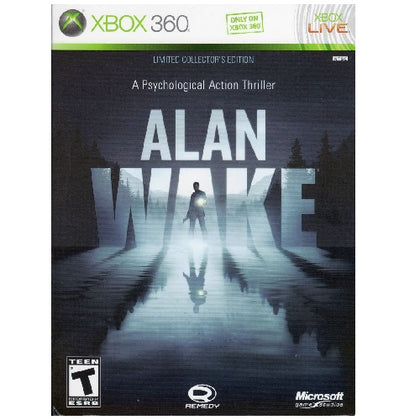 Xbox 360 - Alan Wake Limited Collector's Edition - (15) Preowned