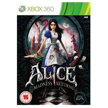 Xbox 360 - Alice Madness Returns (15) Used