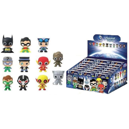 DC Comics 3D Rubber Keychain Series 2