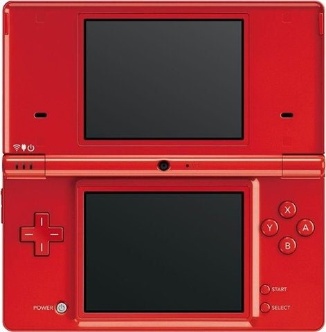 DSi Console Red Preowned