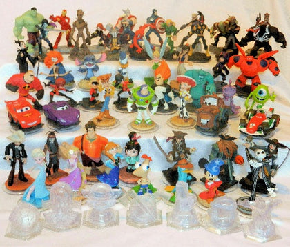 Disney Infinity Figures & Crystals Preowned