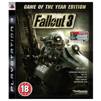 PS3 - Fallout 3 GOTY Ed (18) Preowned