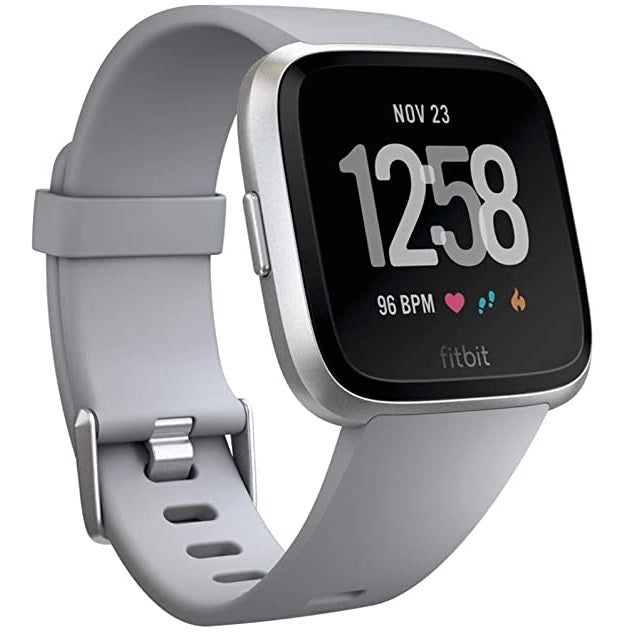 Fitbit Versa Silver Aluminum Preowned