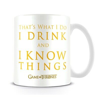 GAME OF THRONES (DRINK & KNOW THINGS) MUG