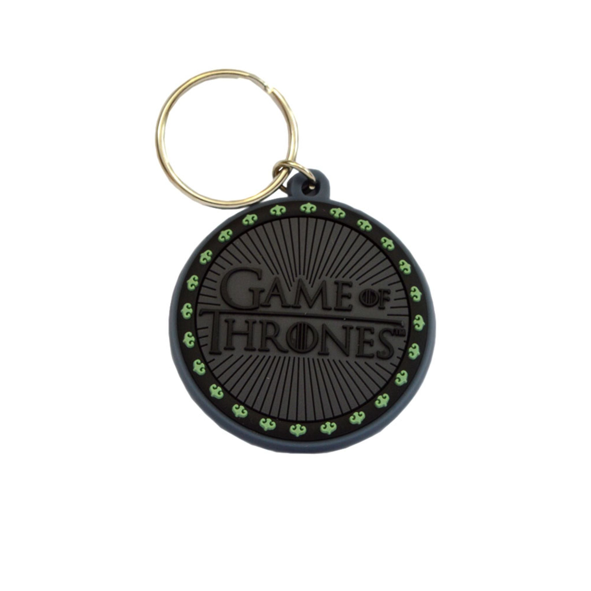 GAME OF THRONES (LOGO) RUBBER KEYCHAIN