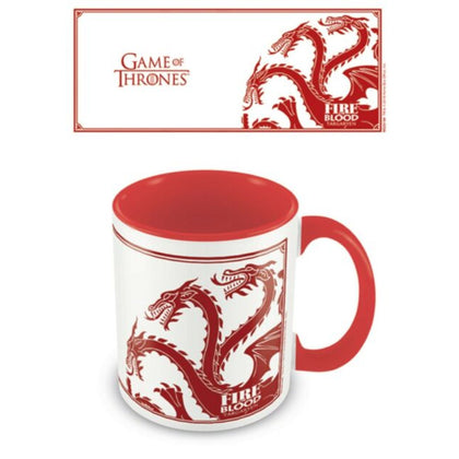 Game Of Thrones (Targaryen) Red Mug
