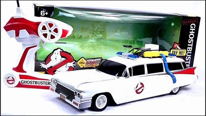 Ghostbuster ECTO-1 Rc Car Collection Only Preowned