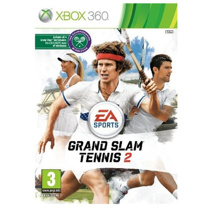 360 - Grand Slam Tennis 2 (3) Preowned