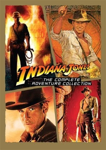 DVD Boxset - Indiana Jones The Complete Adventure Collection (12) Preowned