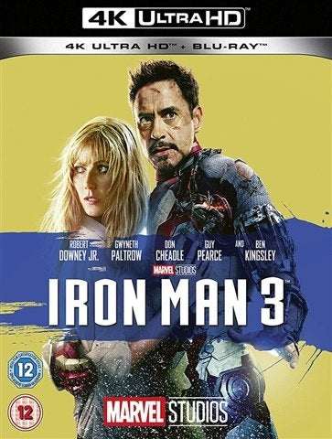 4K Blu-Ray - Iron Man 3 (12) Preowned
