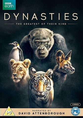 DVD Boxset - Dynasties - David Attenborough (PG) Preowned