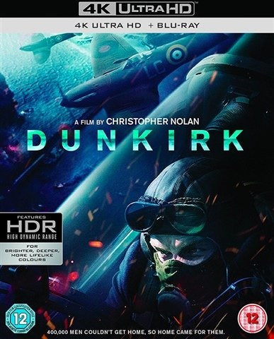 4K Blu-Ray - Dunkirk (12) Preowned