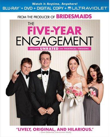 Blu-Ray - The Five Year Engagement (15) Preowned