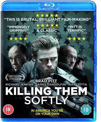 Blu-Ray - Killing Them Softly (18) Preowned