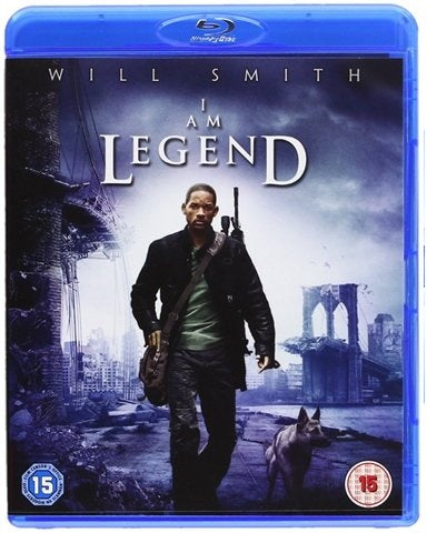 Blu-Ray - I Am Legend (15) Preowned